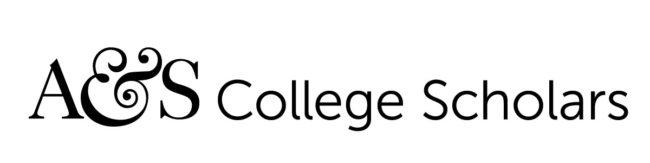 A&S College Scholars_horz_wht3