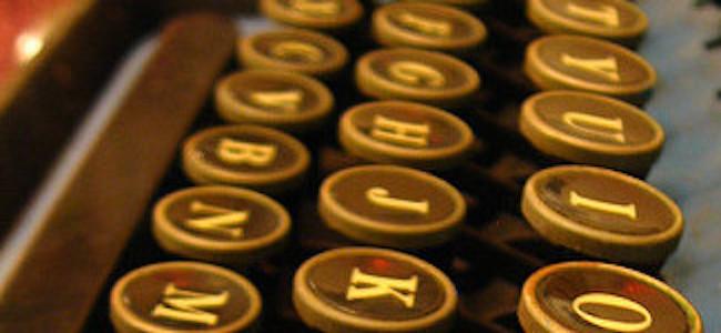 writing keys