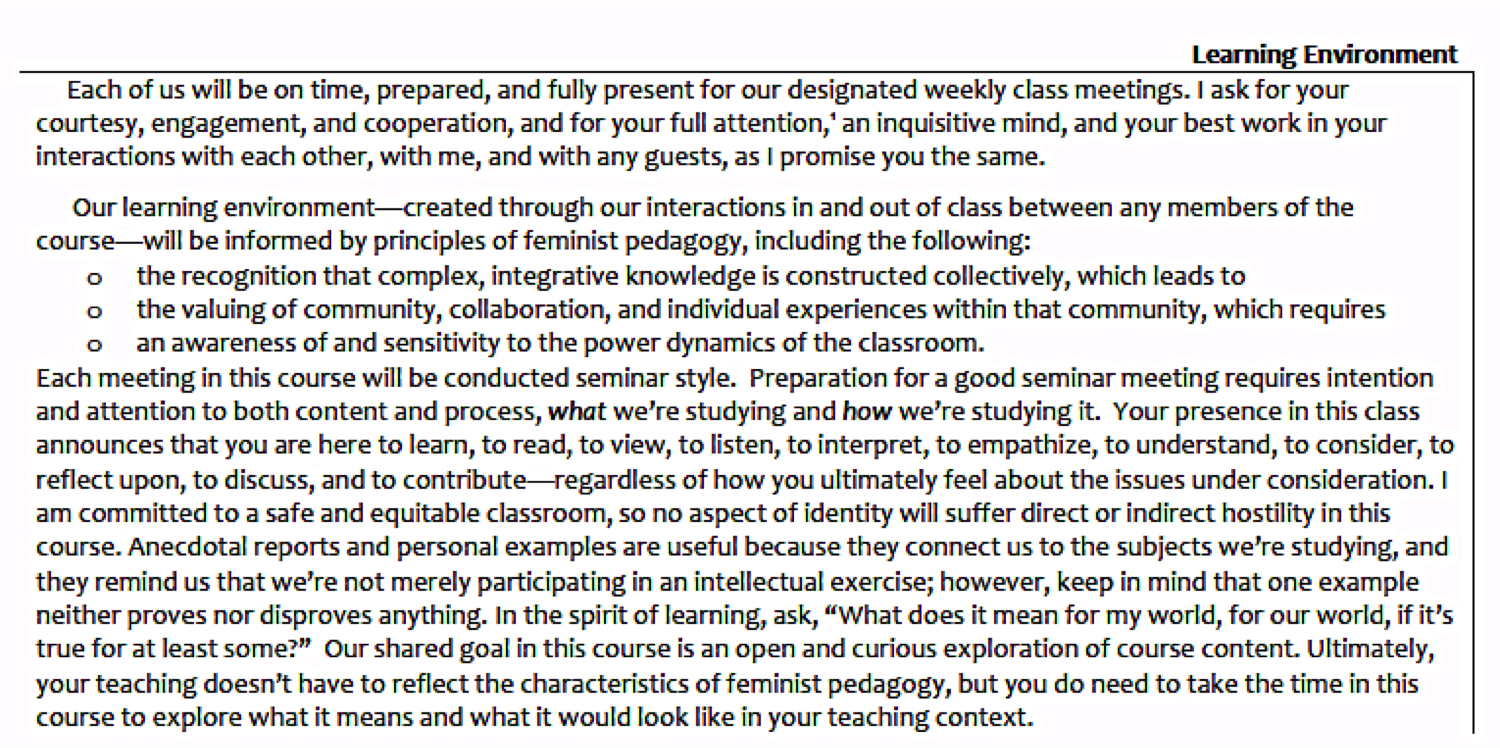 creative writing syllabus for high school students