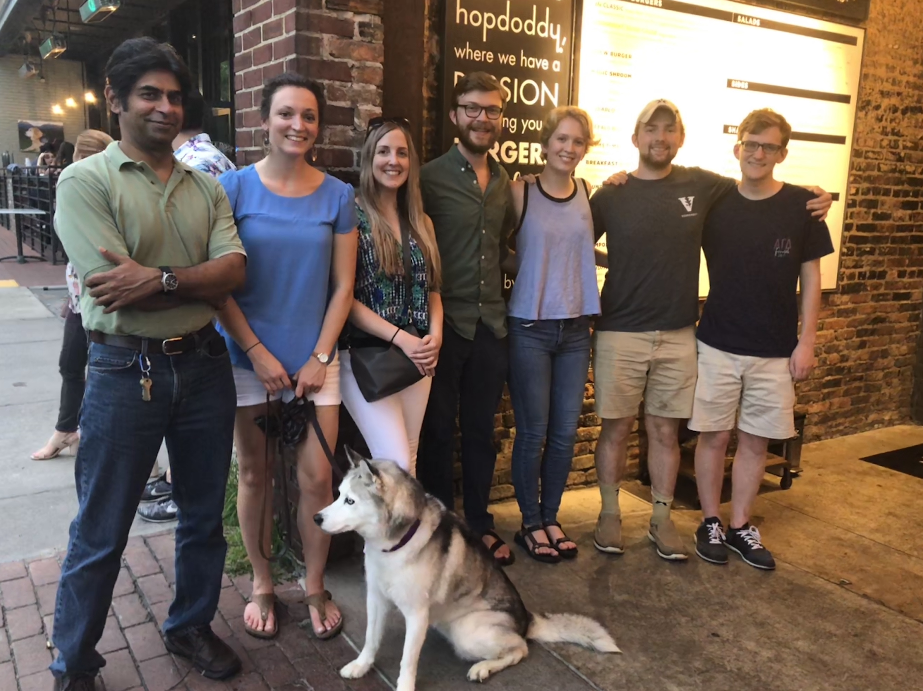 Hopdoddy Lab Outing