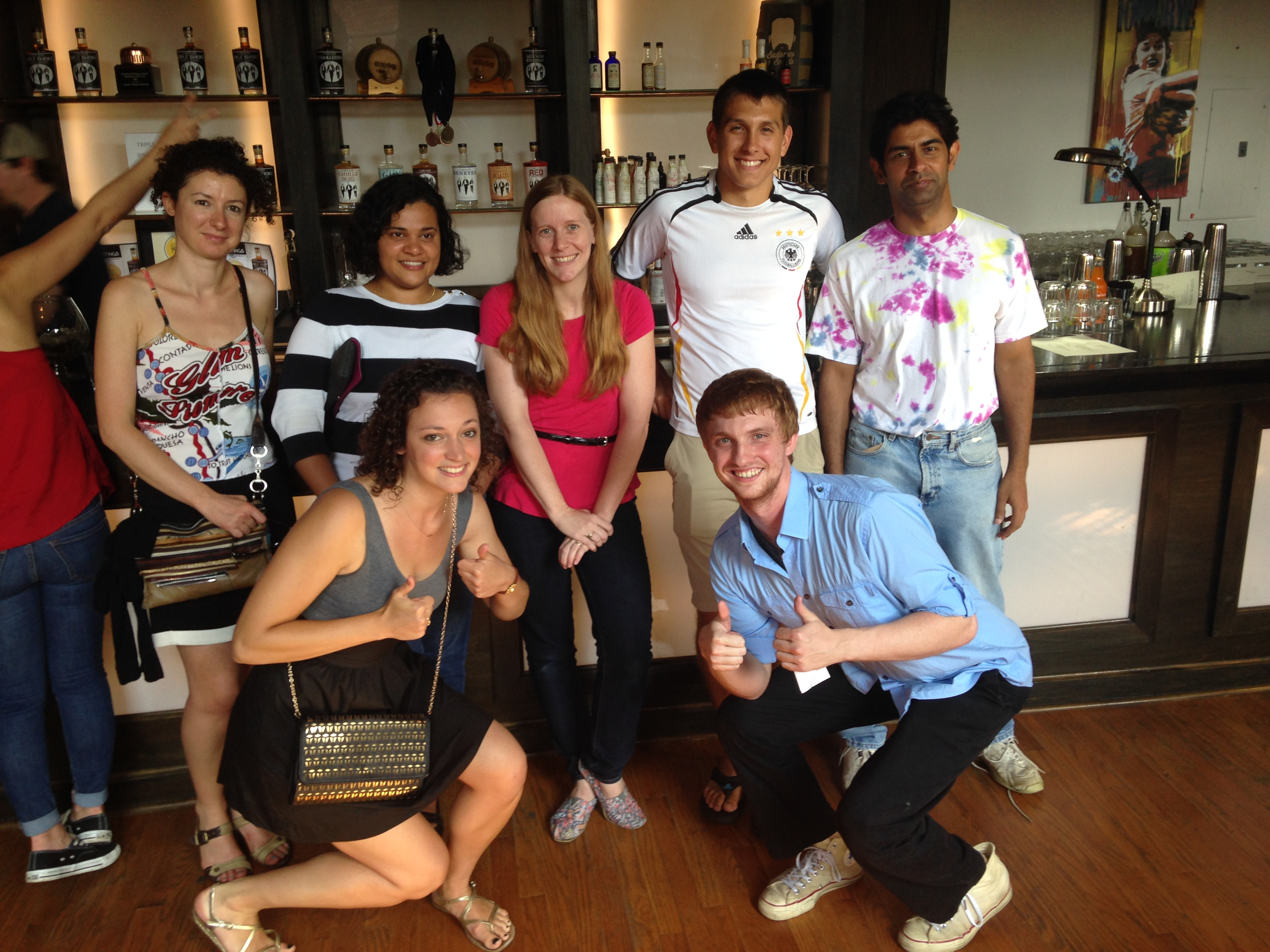 Ram Lab to Corsair Distillery, July 2014