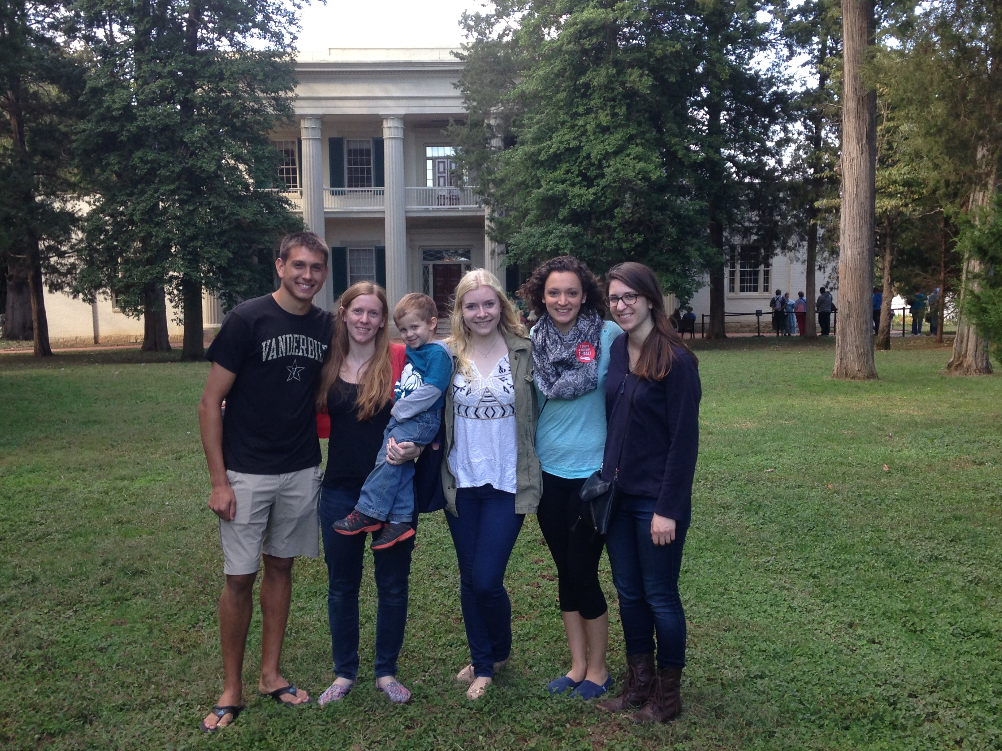 Ram Lab to The Hermitage Fall Festival, October 2014
