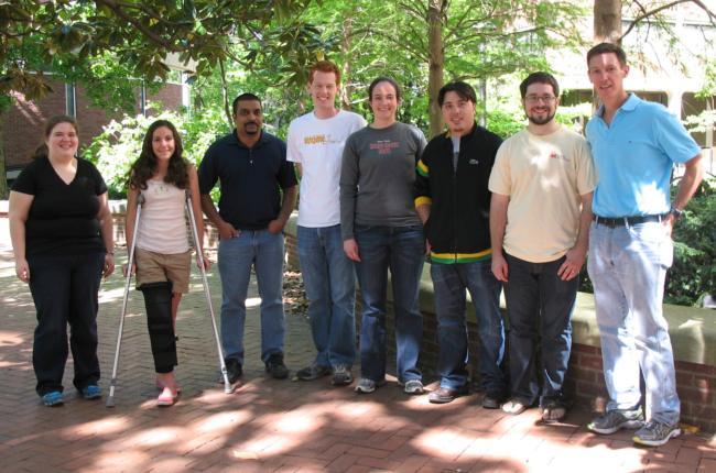 Hutson Lab Crew, April 2012