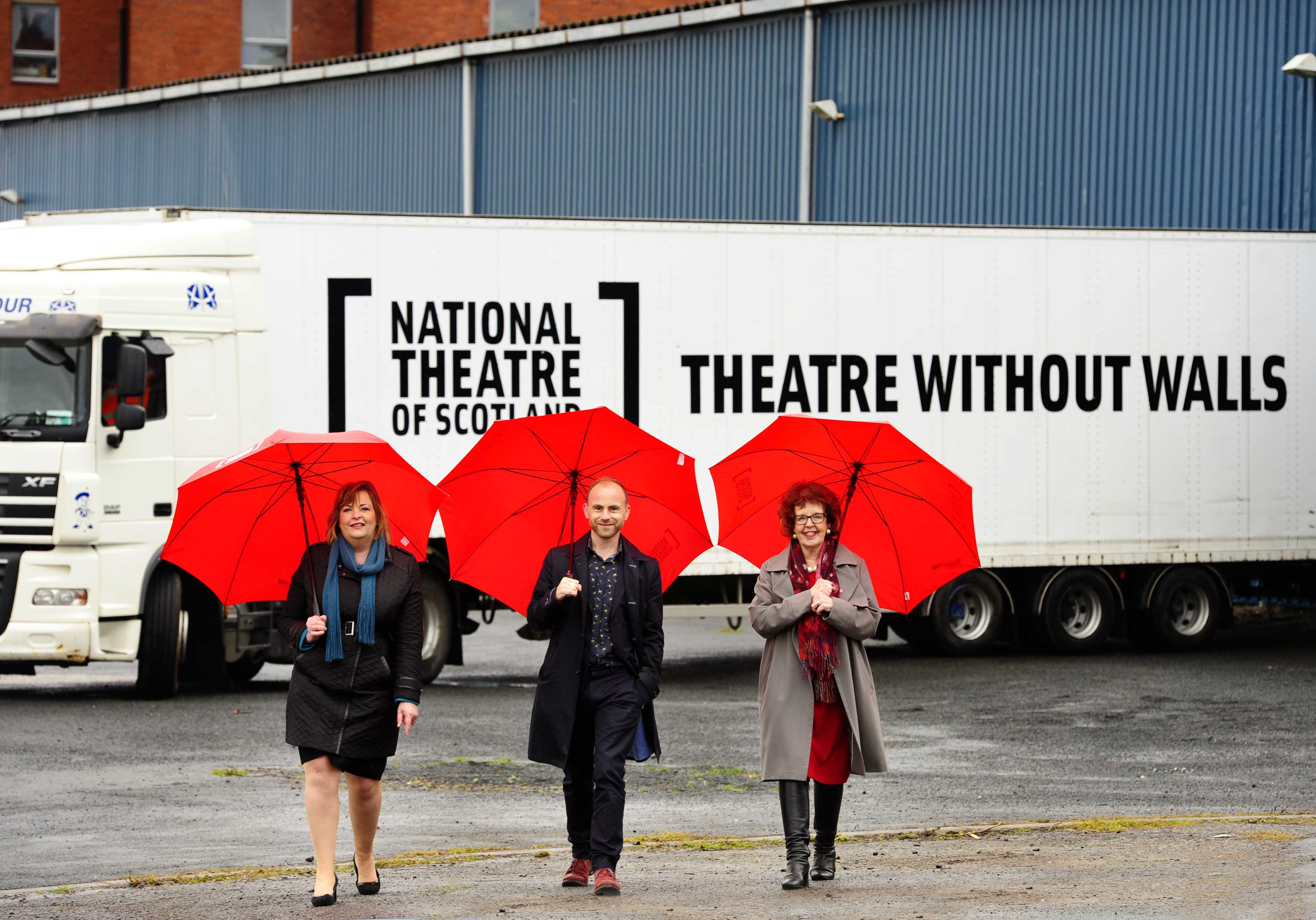 """The National Theatre of Scotland prides itself as being a """"theatre without walls,"""" meaning they stage productions in found spaces all over the country"""