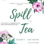 WBFW Tea Party Flyer