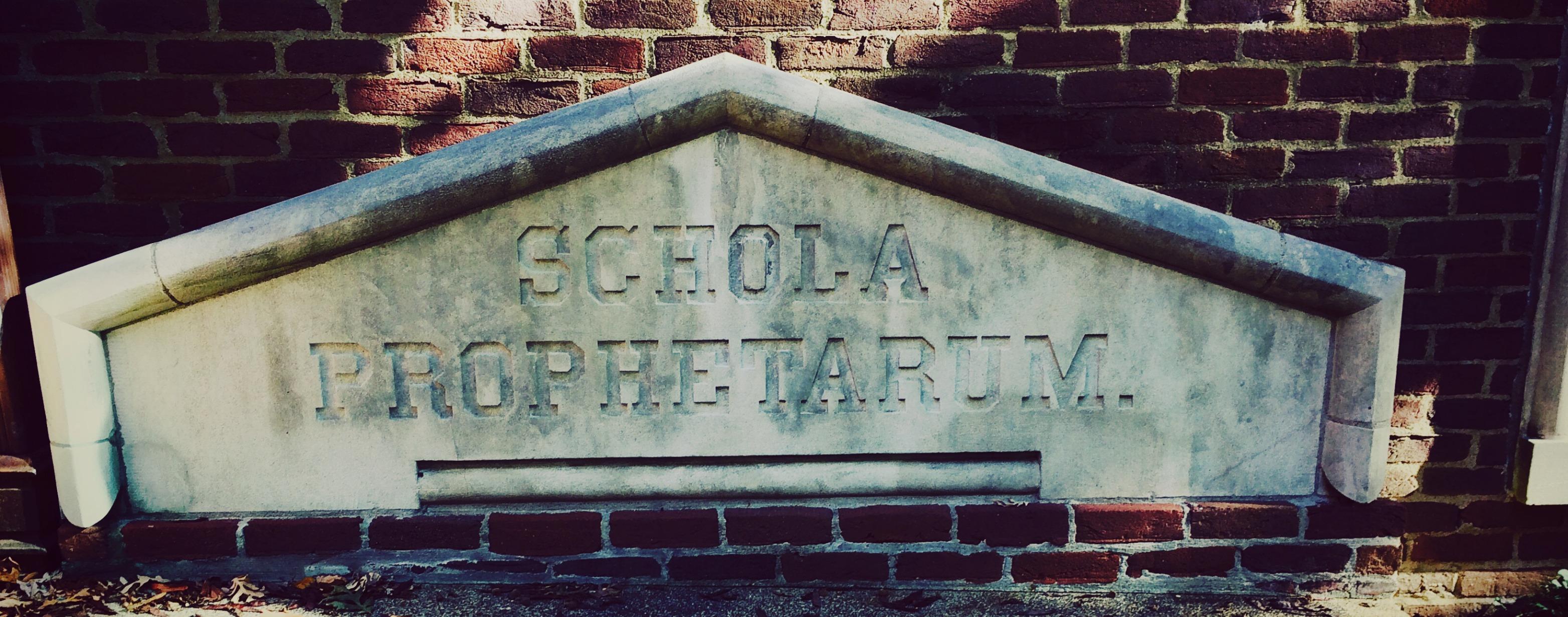 schola prophetarum