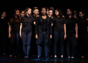 """Vanderbilt Off-Broadway performs """"Pippin"""" in Ingram Hall on January 17, 2018. Photo by Madison Lindeman."""