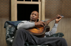 """Eddie George (Lincoln) performs in """"Topdog/Underdog"""" on February 15th, 2019."""