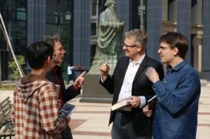 4 discussing before Confucius