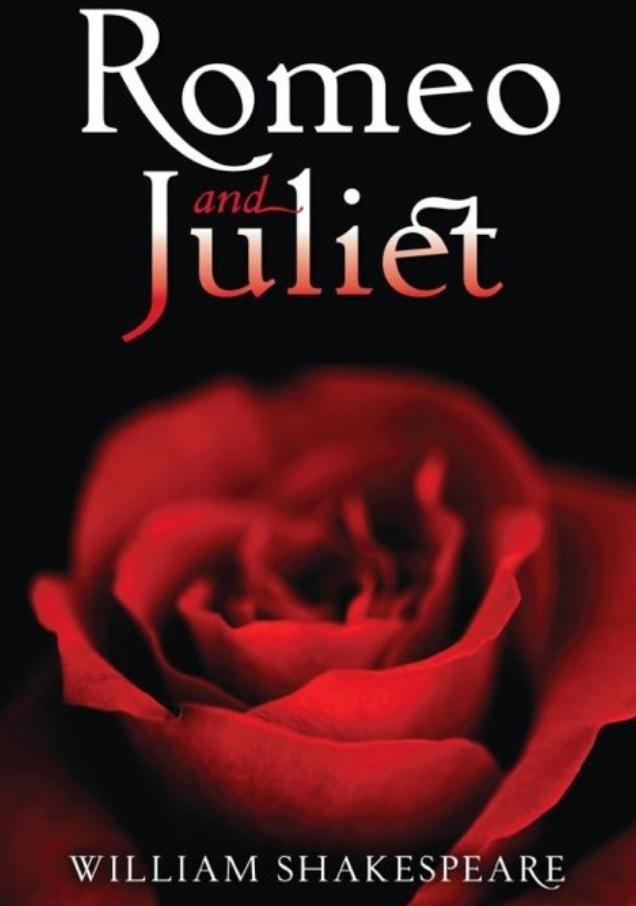 Картинка с надписью ромео и джульетта