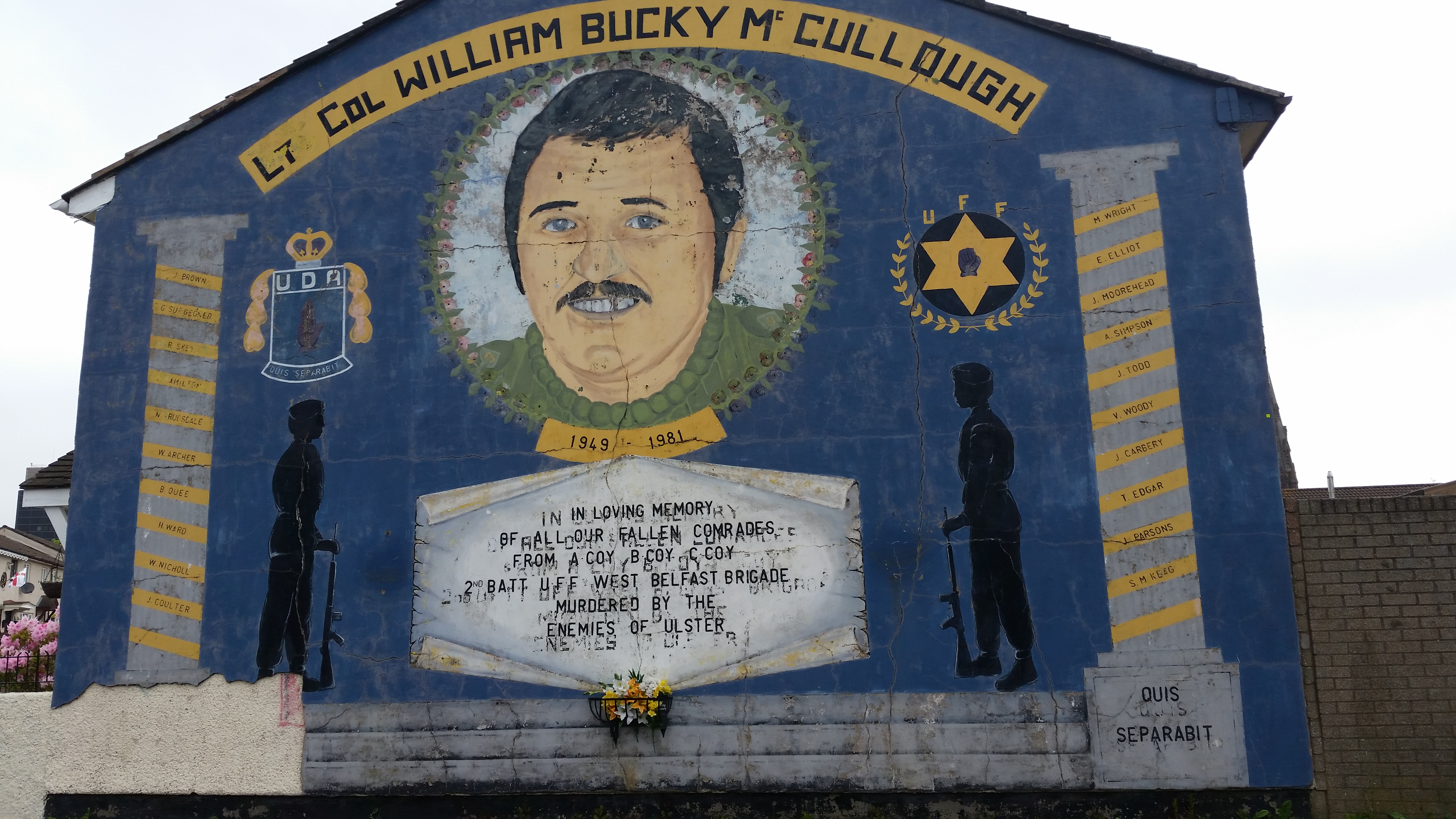 A Protestant/Loyalist Mural